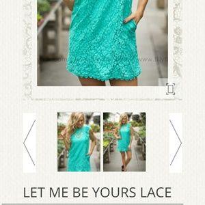 Dresses - Let me be yours lace dress